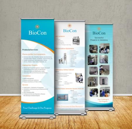 BioCon Standing Banner